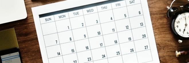 Forårssemestrets store datooverblik